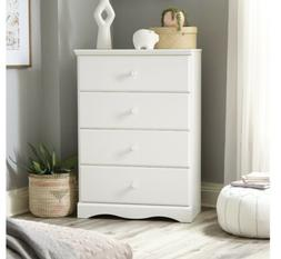 4 Drawer Wooden Dresser Chest Drawers Clothes Storage Bedroo