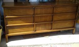 4 piece Bedroom set by Drexel . Two dressers , nightstand ,a