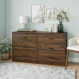 Classic 6 Drawer Dresser, Multiple Color Finishes