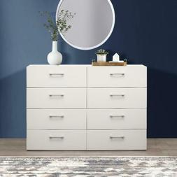 Lundy 8-Drawer Dresser, White, By Hillsdale Living Essential