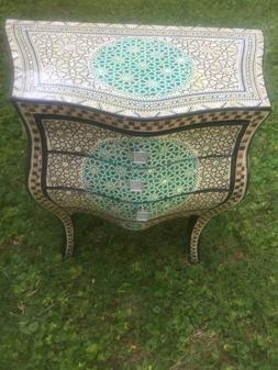 Moroccan, Egyptian large dresser, Cabinet, inlaid w/ Mother