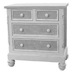 The Evan 4 Drawer Wood Chest Dresser Furniture Hand painted